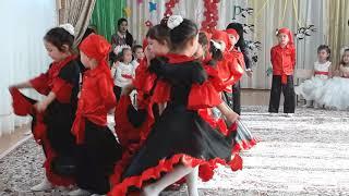 Испанский танец! Средняя группа