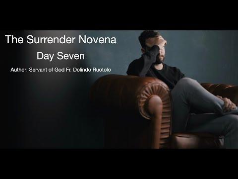 Day 7 Surrender Novena