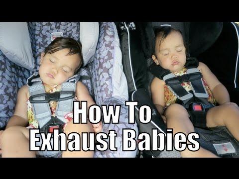 How To Exhaust Babies - October 14, 2015 - ItsJudysLife Vlogs thumbnail