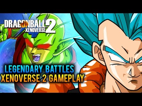 Dragon Ball Xenoverse 2: Legendary Battles!! Unleashed! - Part 6 (DBX2 Gameplay Open Beta Oct. 14th)