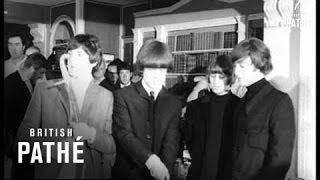 Beatles Win Caroline Award (1965)
