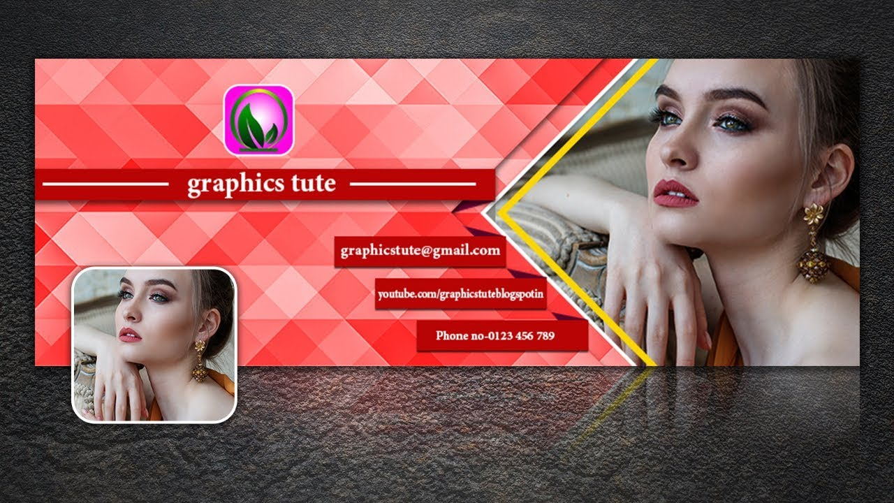 Facebook Cover Page Design In Photoshop Very Easy Method Free Psd Template Download