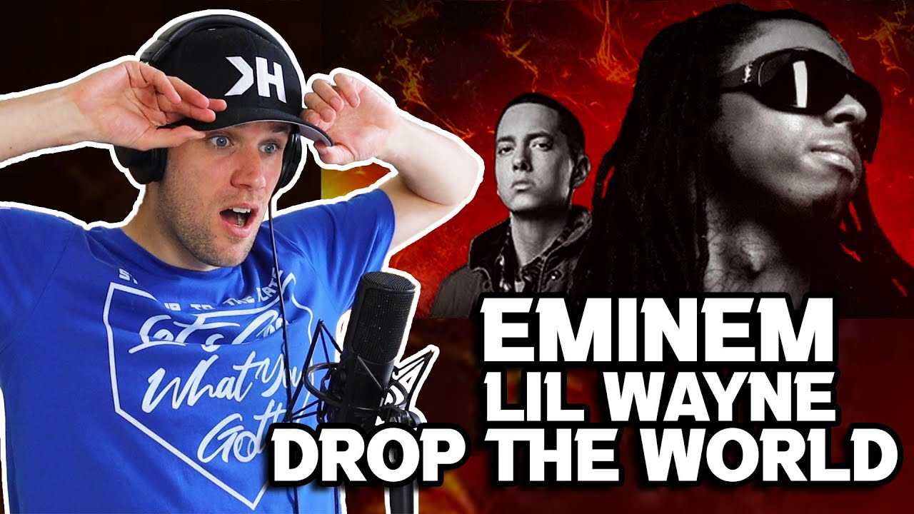Rapper Reacts to EMINEM X LIL WAYNE! | DROP THE WORLD (THIS ONE HITS HOME!)