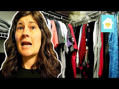 MY CLOSET DECLUTTER | CLEAN OUT AND ORGANIZE MY CLOSET WITH ME 2018