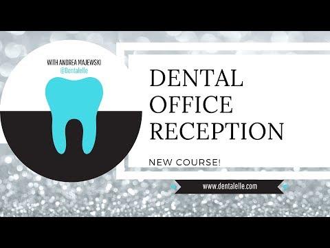 NEW Dental Reception Online Course