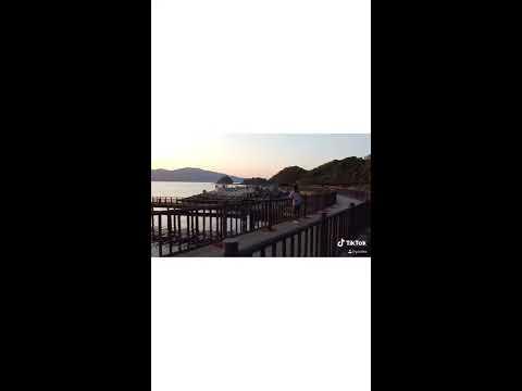 Drone video! TickTok Yamaguchi Kudamatsu drone aerial video Kasado Marine Promenade #Kudamatsu-city