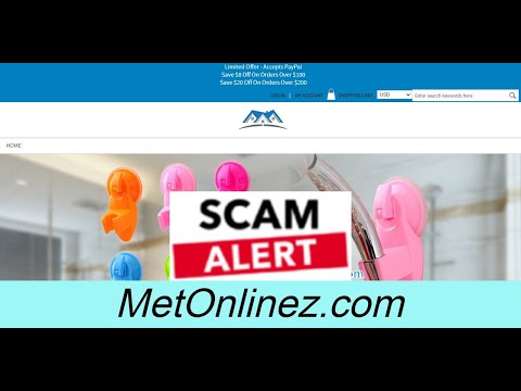 Scam Alert! METONLINEZ.COM | METONLINEZ.COM Review from YouTube · Duration:  1 minutes 29 seconds