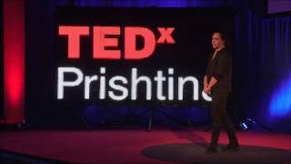 In search of selflessness   Garentina Kraja   TEDxPrishtina