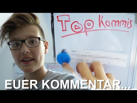 Ich Klebe KOMMENTARE An Meine WAND.... - Daily Vlog 11