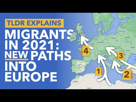 How Do Migrants & Refugees Get to Europe? Four Major Paths Taken to Enter the EU - TLDR News