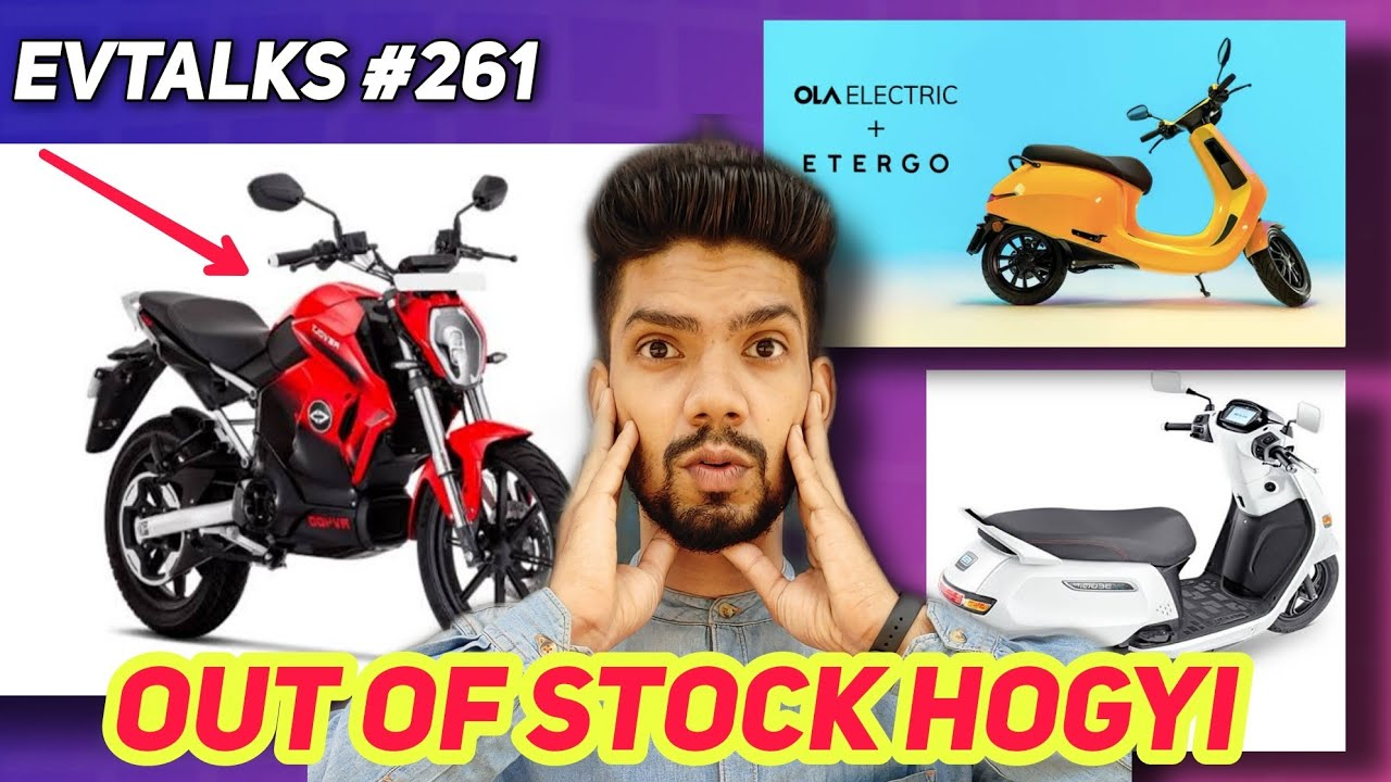 EVTALKS #261   Revolt motorcycle out of stock   Ola electric scooter   Tvs iqube Available ev news🔥