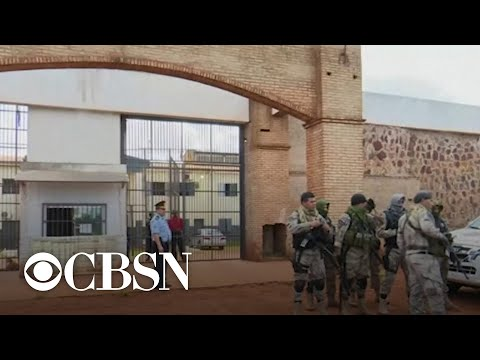 WorldView: Paraguay prison escape and more headlines