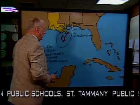 WWL New Orleans. Meteorologist David Bernard and Nash Roberts