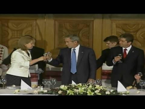 CNN: Laura Bush on George
