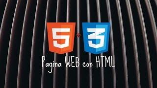 HACER UNA PAGINA WEB - HTML & SUBLIME TEXT