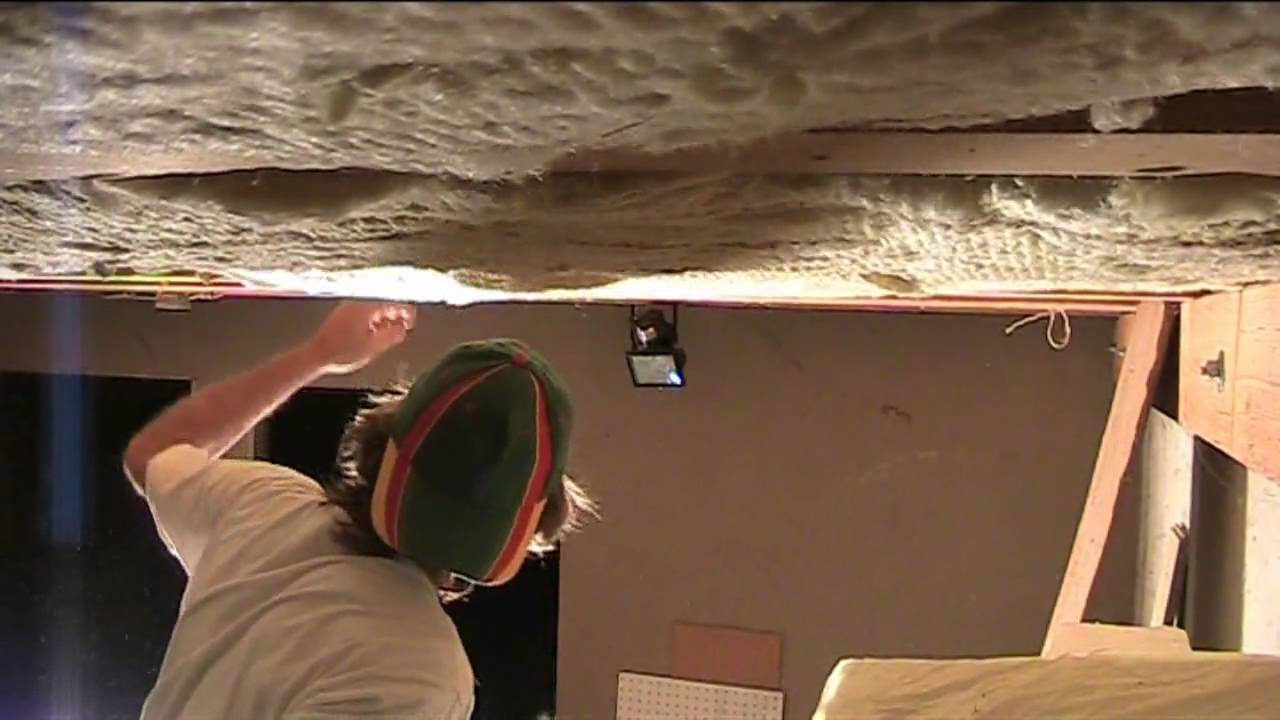 Building A Home Studio Part One Roof Insulation YouTube