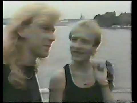Def Leppard Steve & Phil Interview Sweden 1987