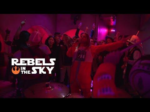 "AMONTIOCK -""REBELS IN THE SKY""  (Star Wars Punk Rock Video)"