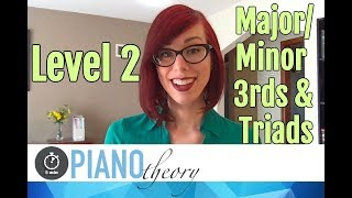 Level 2 Chords  |  5min Piano Theory Lesson