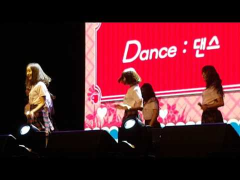 Gfriend Rough 2x Fast Dance (L.O.L Singapore Showcase 2016)