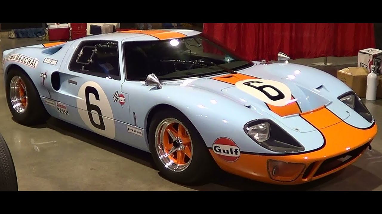 Ford Gt  Superformance