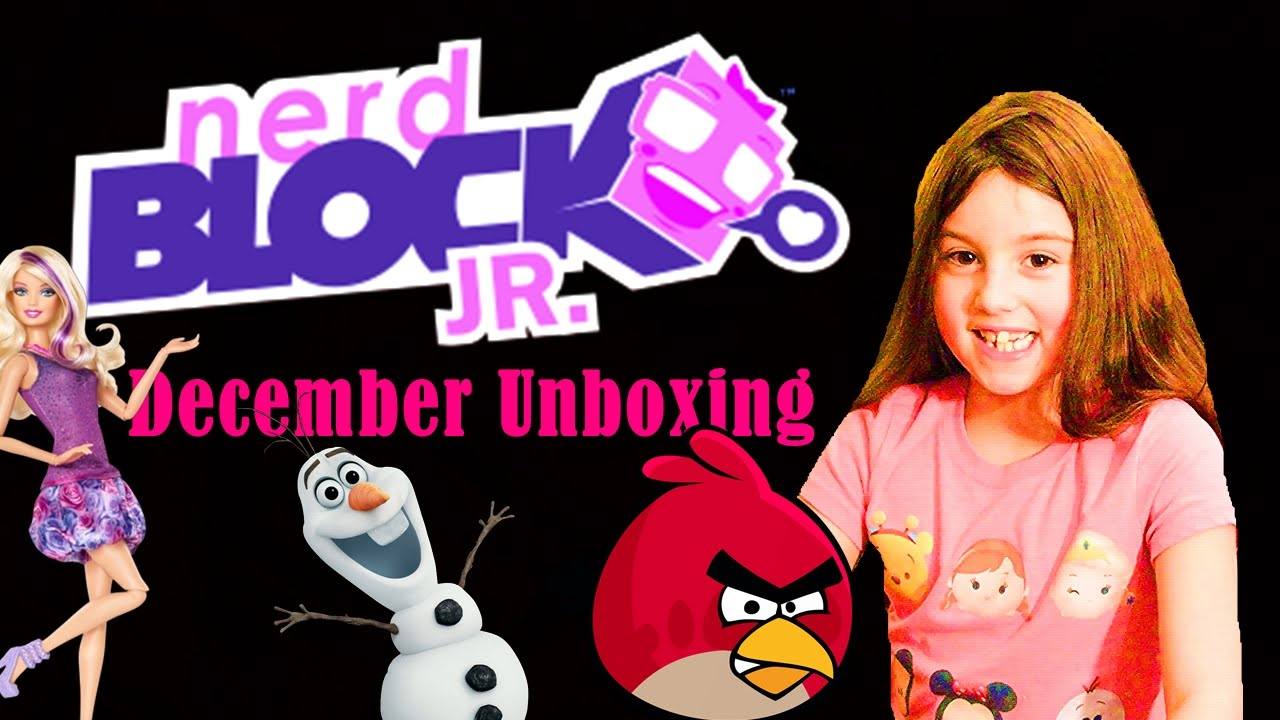 Nerd Block Jr. Girls :: December 2015 Unboxing :: Frozen ...