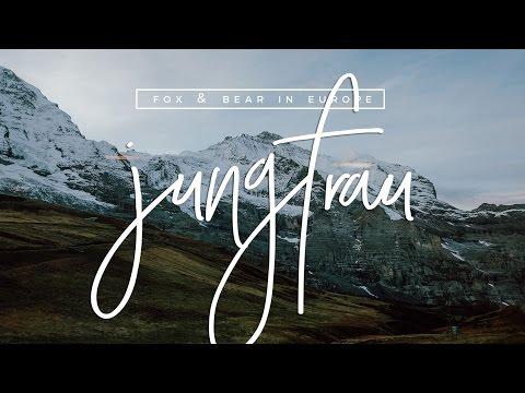 EUROTRIP VLOG: Visiting The Alps of Switzerland (Jungfraujoch) | Fox & Bear