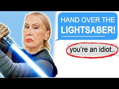 """r/entitledparents-""""entitled-mom-demands-my-lightsaber!"""""""