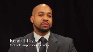 Kendall Taylor, COO Metro Transportation Services