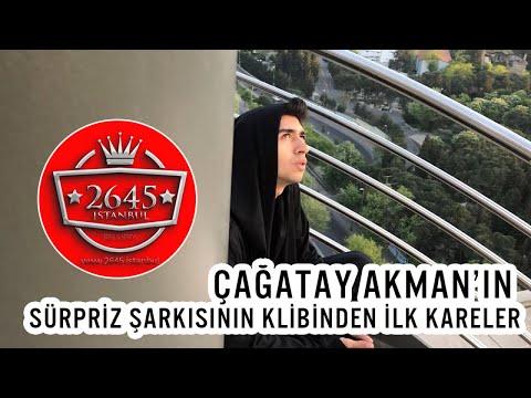 Çağatay Akman - Çağatay Akman'ın Sürpriz Yeni Şarkısının Kamera Arkası Görüntüleri