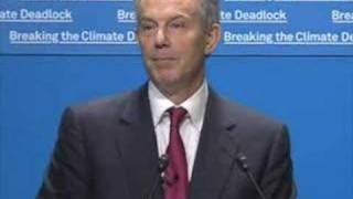 Tony Blair speaks on Breaking The Climate Deadlock
