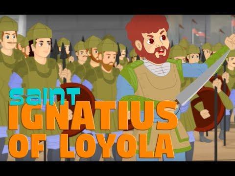 Story of Saint Ignatius of Loyola -Part -1-  | English | Story of Saints For Kids