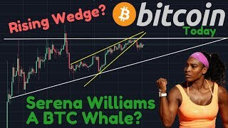 Bitcoin HUGE MOVE Within 6 Days? | Serena Williams Invested In Coinbase | BTC Bottom?