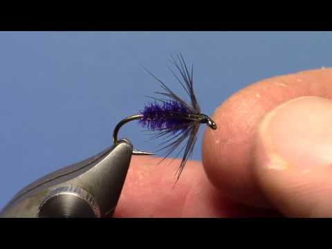Fly Tying Peacock & Starling Soft Hackle