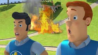Strażak Sam Ogień za tobą! Nowe odcinki Najlepsze uratowania Kreskówki dla dzieci
