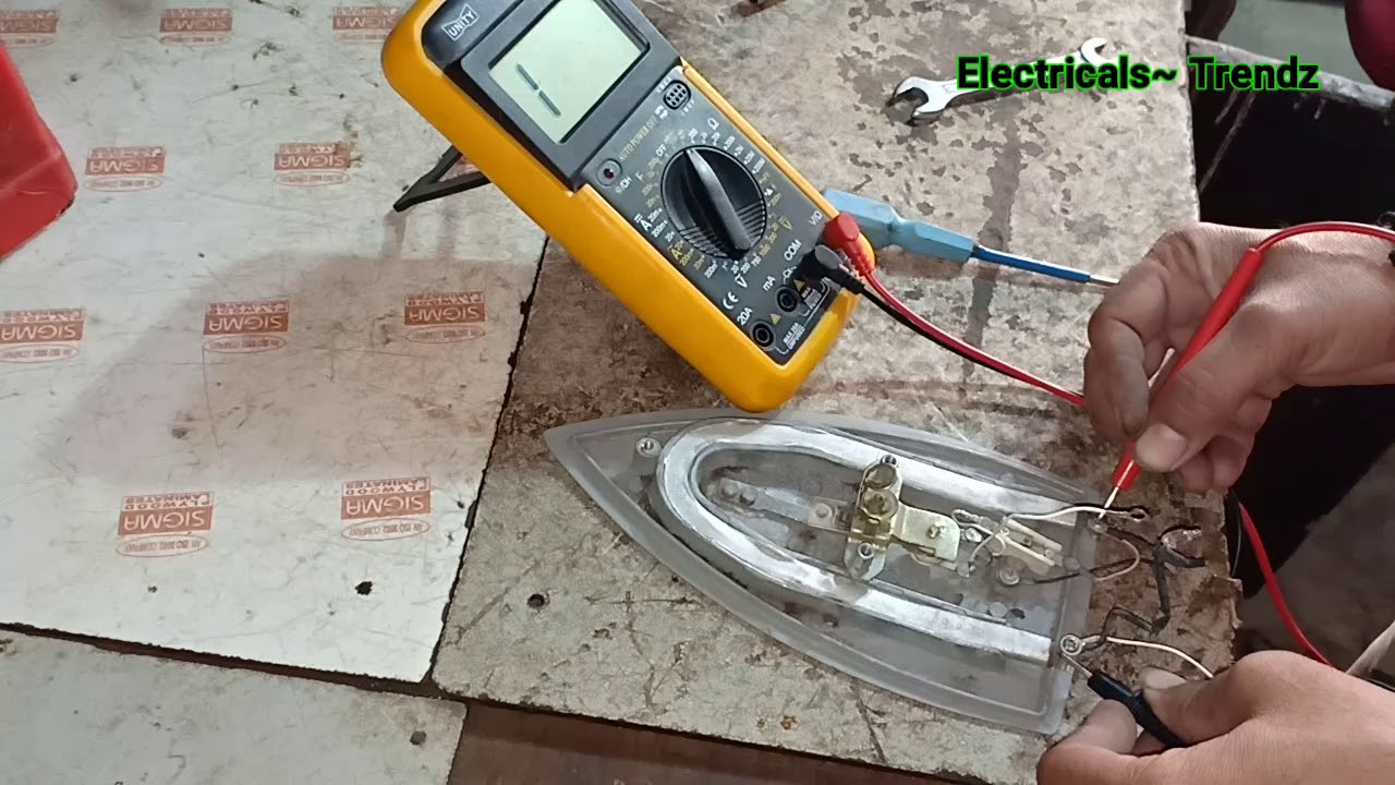 Electric Iron Repair Basic And Fault