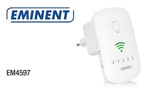 EM4597 Concurrent AC1200 Dual Band WiFi Repeater (English)