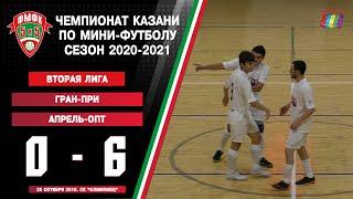 ФМФК 2020 2021 Вторая лига Гран При vs Апрель Опт 0 6