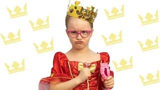 Богдана стала капризной принцессой!
