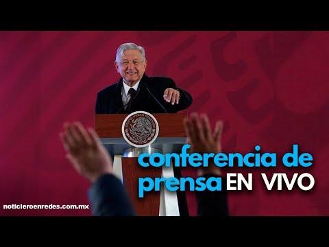 Conferencia de AMLO hoy en vivo (desde las 7 am) #ConferenciaPresidente