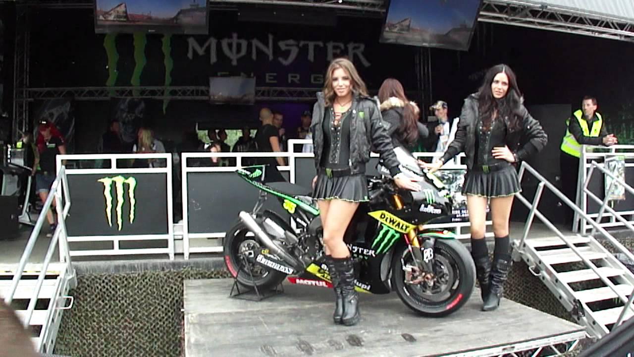 Monster Energy Grid Girls MotoGP Brno 2012 - YouTube