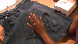 Diy Old Jeans = New Skirt - Freestyle Friday #37