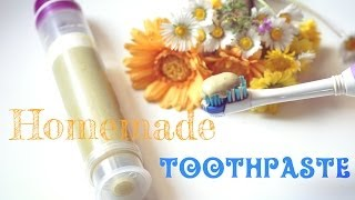 Homemade Herbal Remineralizing Toothpaste Thumbnail