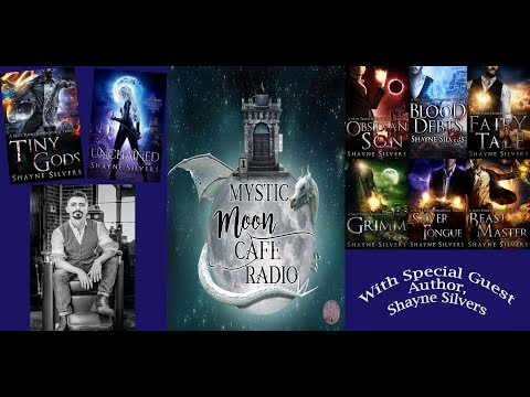 Shayne Silvers, Author of Nate Temple Series, On Mystic Moon Cafe