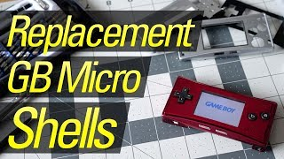 Game Boy Micro Replacement Shells!