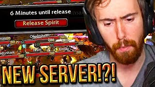 Gambar cover Asmongold Is Thinking About Leaving His PvP Server (Faerlina) - Classic WoW
