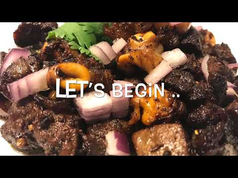 KHASIKO KALEJO FOKSO ( GOAT LUNGS and LIVER ) fry recipe |Quick and Easy|