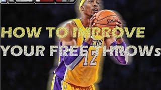 NBA 2K17 How To Get Your Free Throw Better In MyCAREER & Pro AM