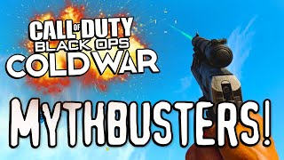 HAND CANNON MYTHS! (Call of Duty: Black Ops Cold War Mythbusters)