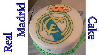 Real Madrid Cake Tutorial